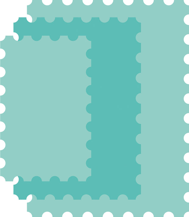 Decorative Die - Nesting Postage Stamp