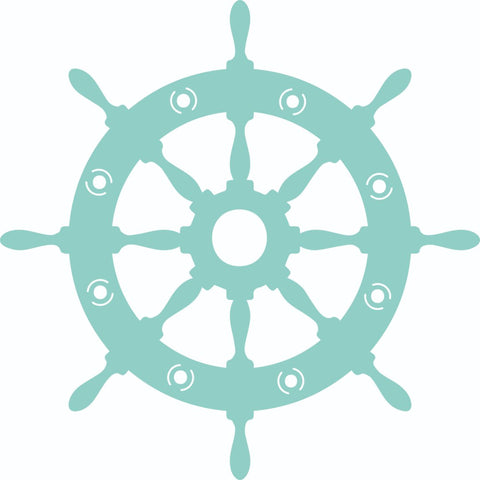 Decorative Die - Captains Wheel