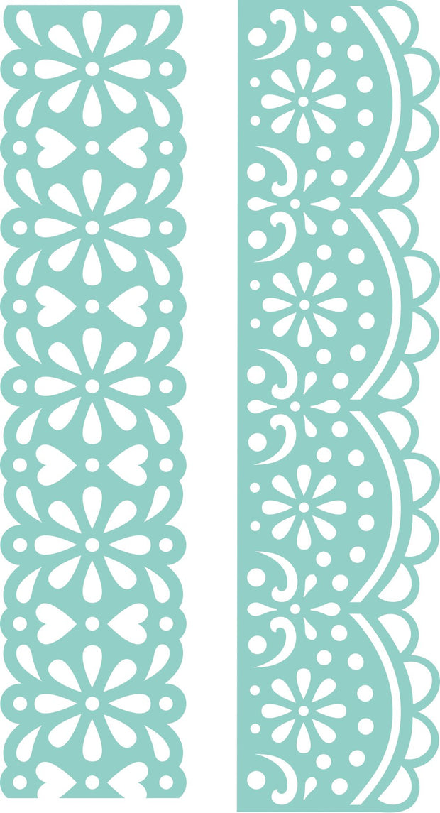 Decorative Die - Lace Borders