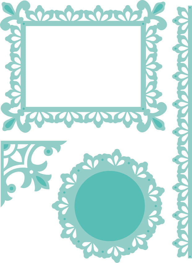 Decorative Die - Ornate Pack 1