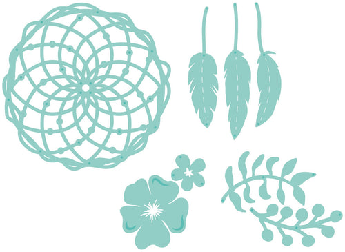 Decorative Die - Floral Dream Catcher