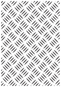 Embossing Folder - Checker Plate