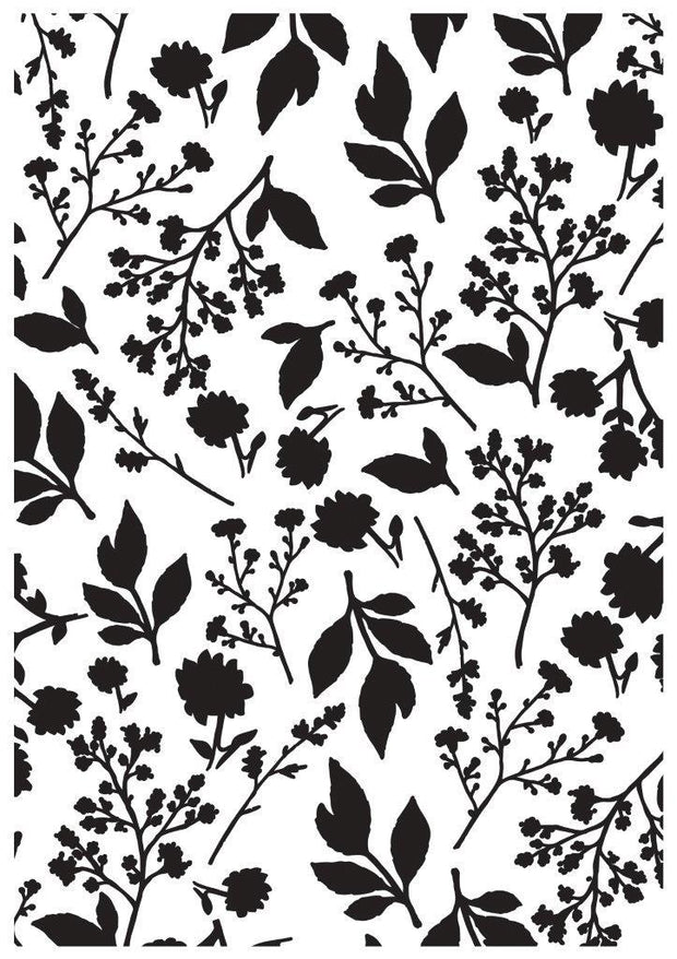 Embossing Folder - Bloom