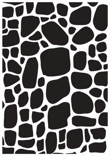Embossing Folder - Cobblestone