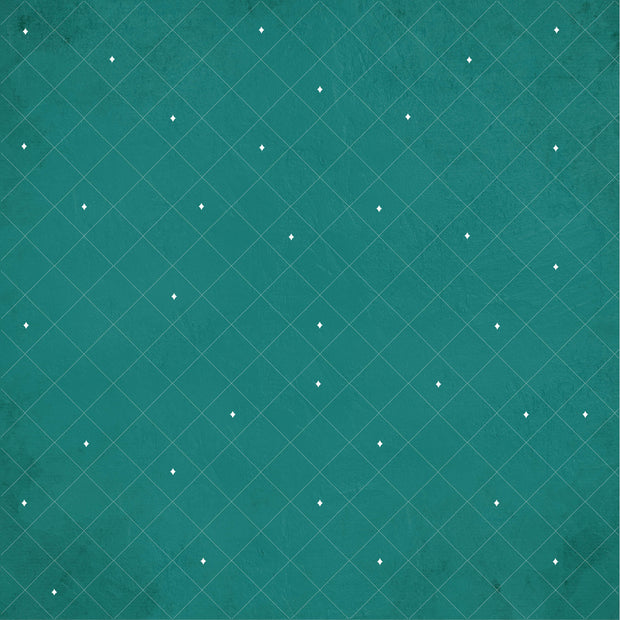 Emerald Eve 12x12 Scrapbook Paper - MERRY MOMENTS