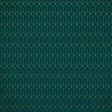 Emerald Eve 12x12 Scrapbook Paper - REJOICE