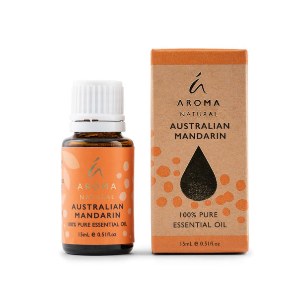 Aroma Natural - Australian Mandarin Essential Oil 15mL