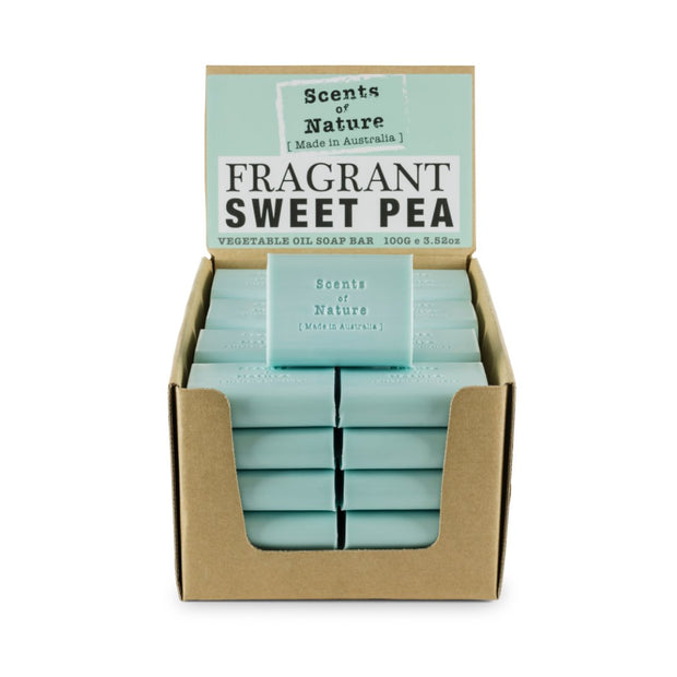 SoN Soap 100g - Fragrant Sweet Pea