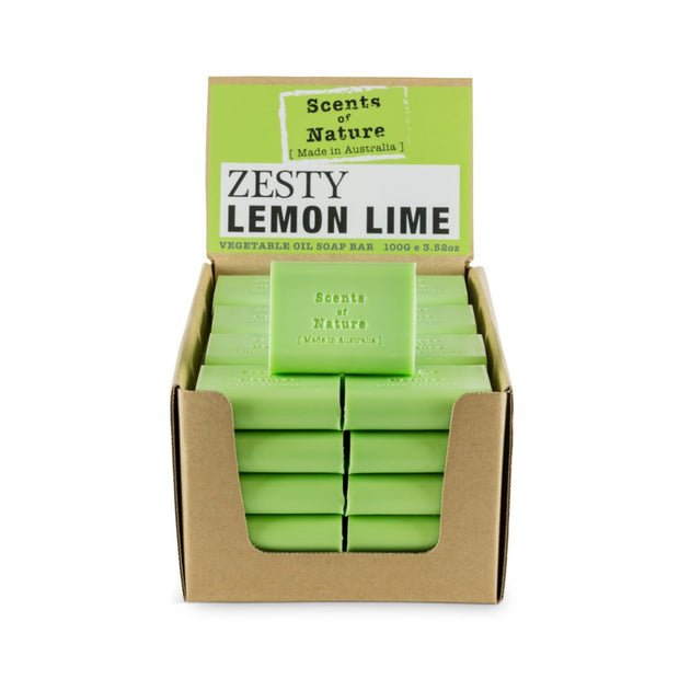 SoN Soap 100g - Zesty Lemon Lime
