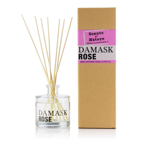 Reed Diffuser 150mL - Damask Rose