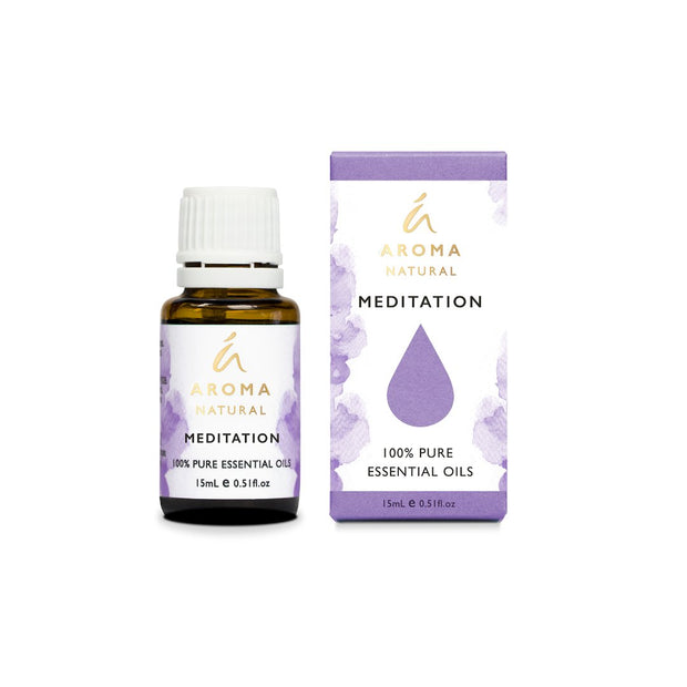 Aroma Natural - MEDITATION Essential Oil Blend 15mL