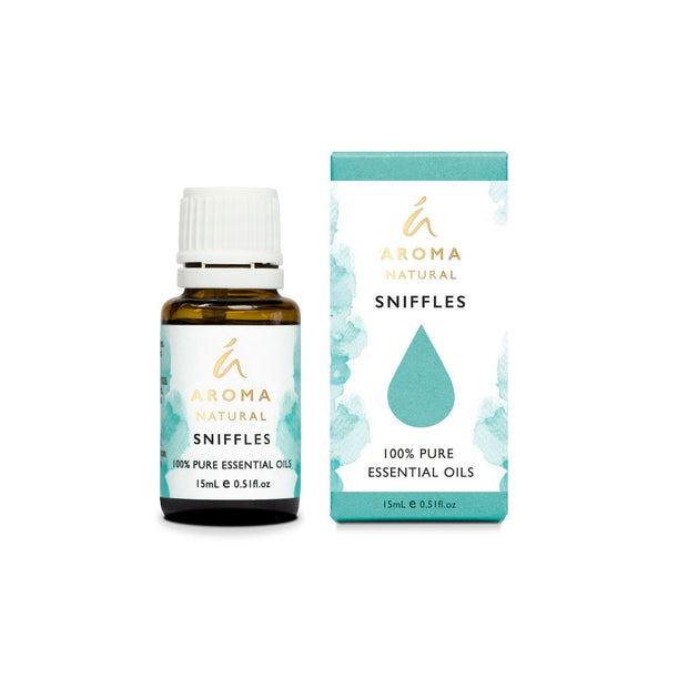 Aroma Natural - SNIFFLES Essential Oil Blend 15mL