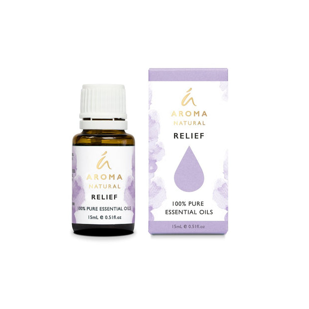 Aroma Natural - RELIEF Essential Oil Blend 15mL
