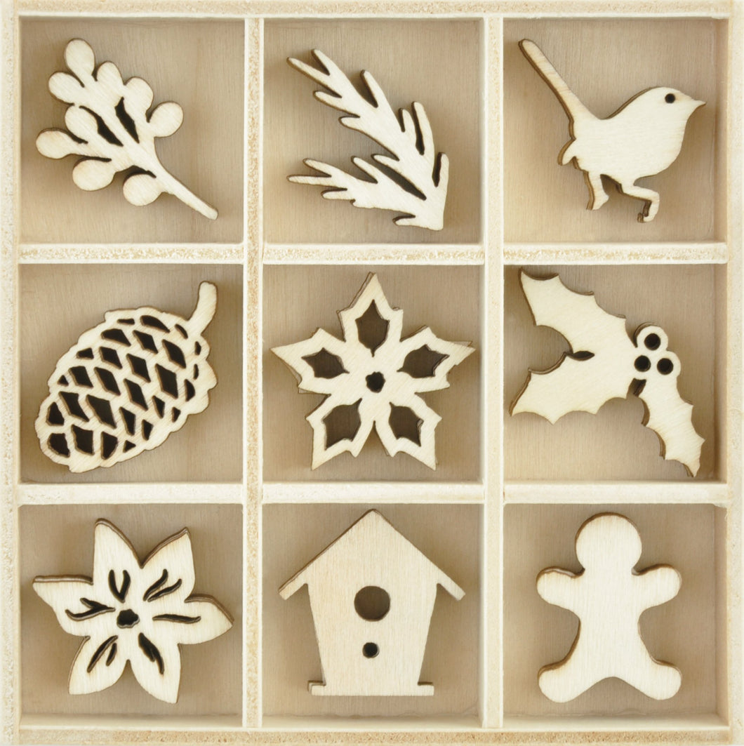 Flourish Pack - Festive Foliage 45pcs