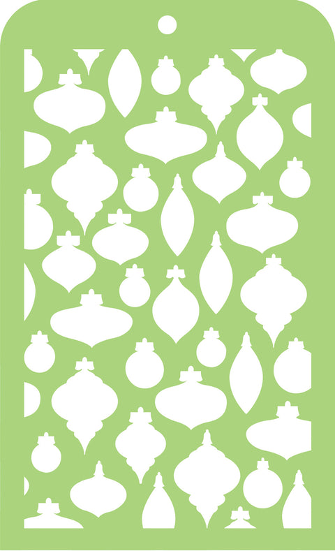 Mini Designer Templates - Baubles
