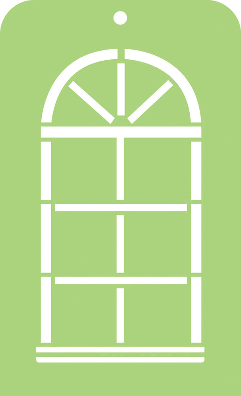 Mini Designer Templates - Arch Window