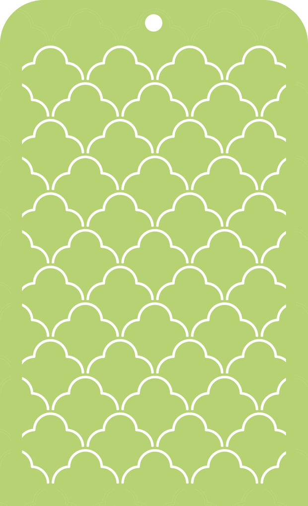 Mini Designer Templates - Scallop Lattice