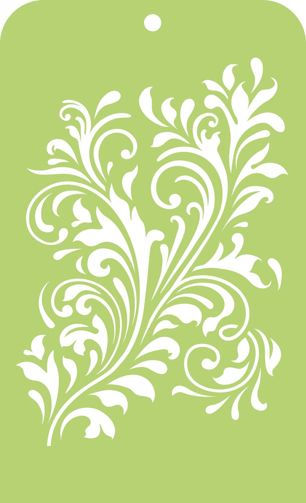 Mini Designer Templates - Fancy Flourish