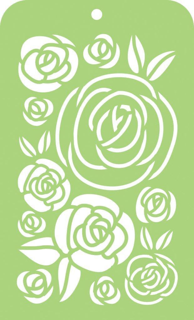 Mini Designer Templates - Roses