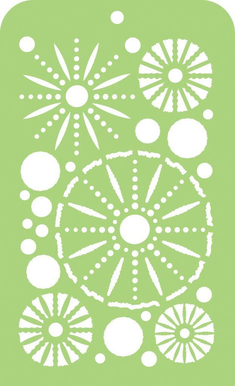 Mini Designer Templates - Sea Urchins