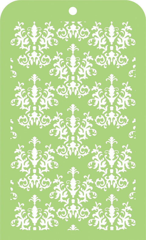 Mini Designer Templates - Royal Damask