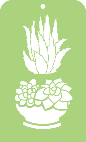 Mini Designer Templates - Succulents