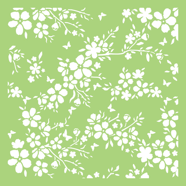 "6 x 6"" Designer Templates - Bloom"