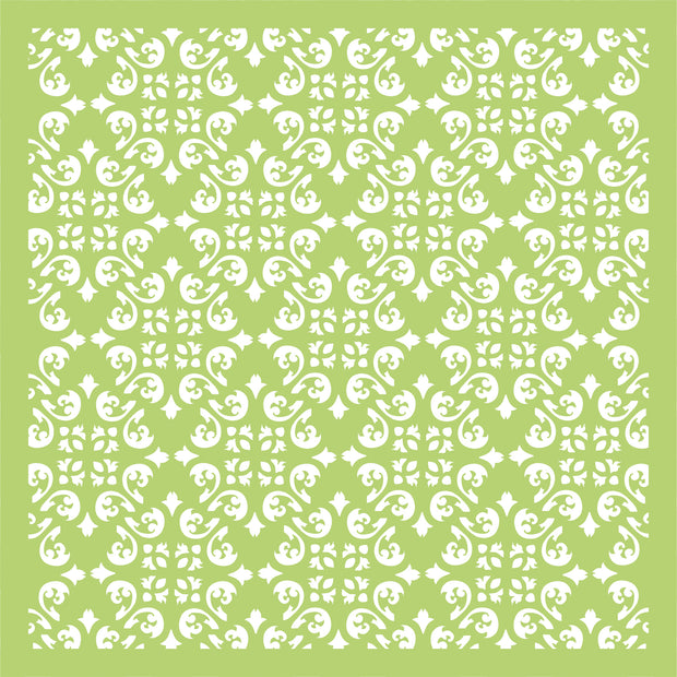 "6 x 6"" Designer Templates - Diamond Flourish"
