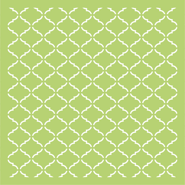 "6 x 6"" Designer Templates - Lattice"