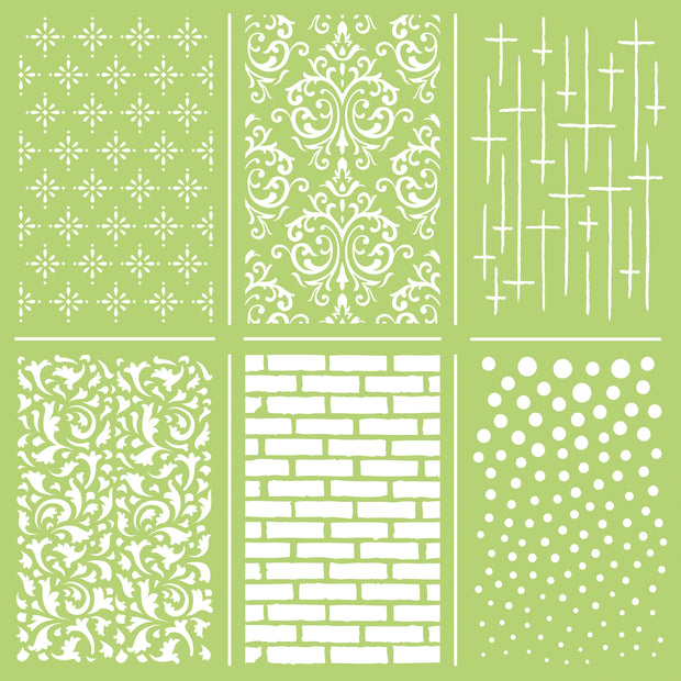 "12x12"" Designer Templates- Mini Mix"