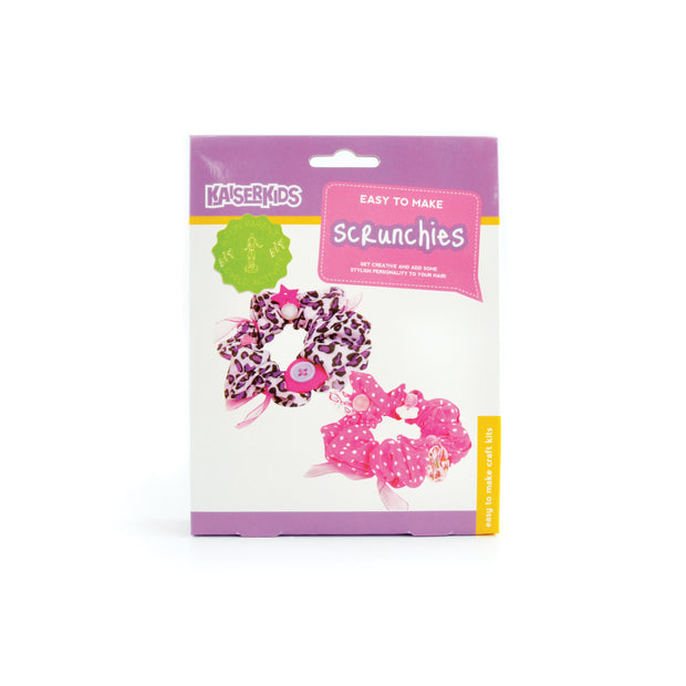 Craft Kit - Scrunchies