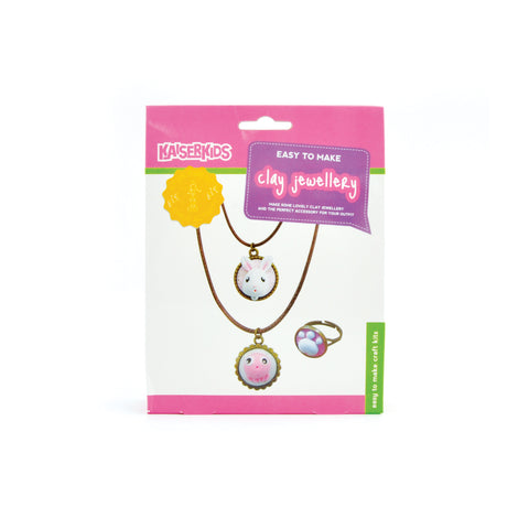Craft Kit - Clay Jewellery