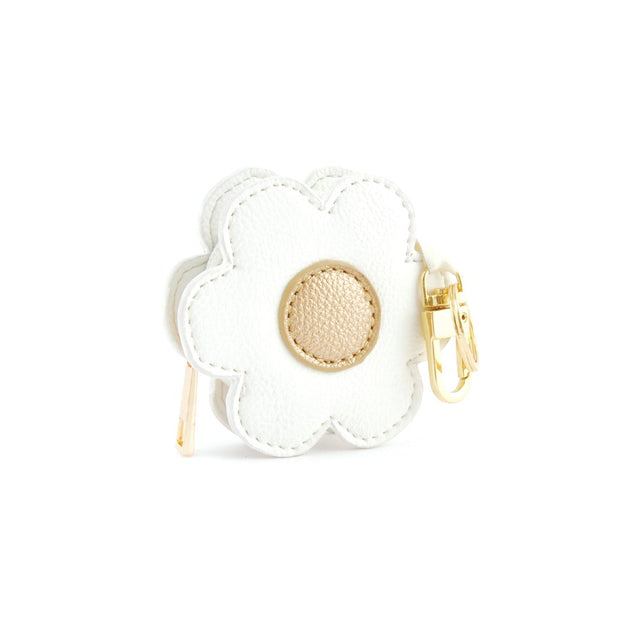 Keyring Coin Purse - Daisy