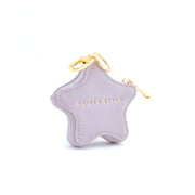Keyring Coin Purse - Star Purple