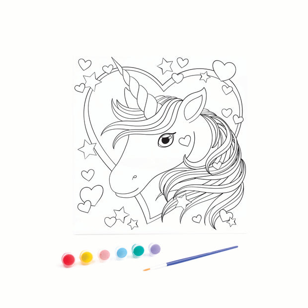 Canvas - Unicorn Head