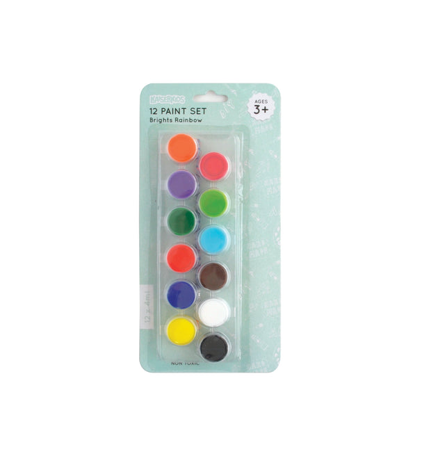 Poster Paint 12x4ml - BRIGHTS