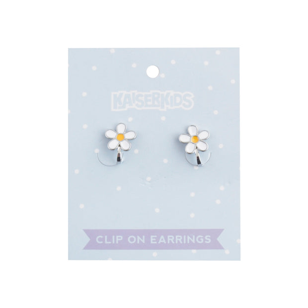 Clip on Earrings - DAISY