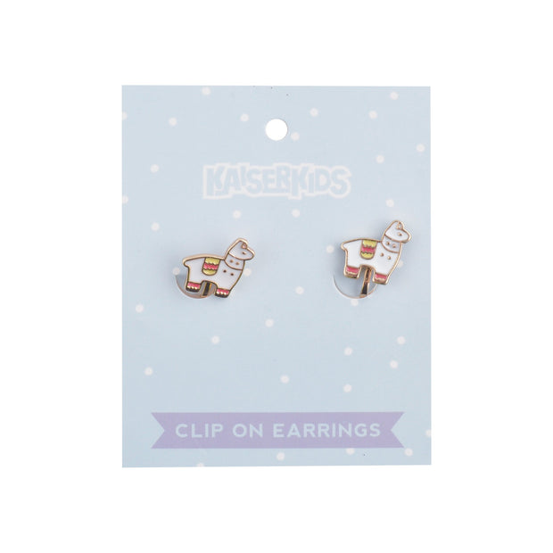 Clip on Earrings - LLAMA