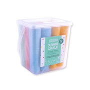 Jumbo Chalk Tub - 6 colours