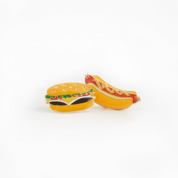 Pin Set - Fast Food