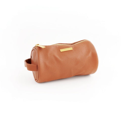 K Style - Round Brush Bag PU Leather - MATILDA