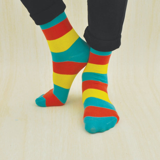 PRIMARY STRIPE Socks
