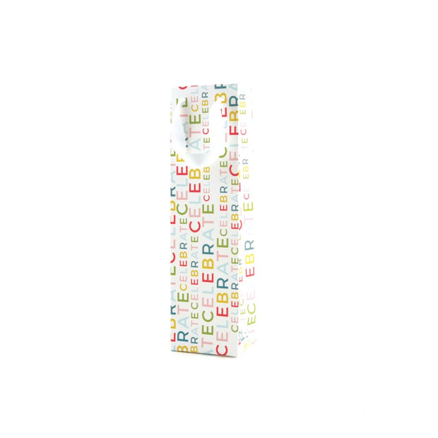 K Style - Bottle Gift Bag - Celebrate Happy