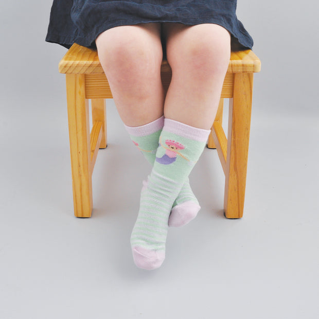 Kids Socks - MERMAID 6-7 years