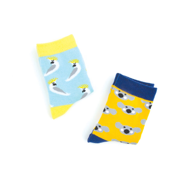 Kids Socks - AUSTRALIAN 4-5 years