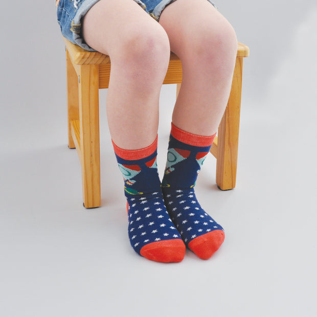 Kids Socks - ROCKET 6-7 years