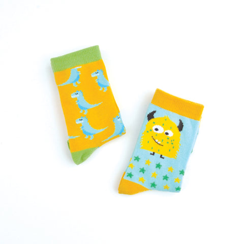 Kids Socks - SCARY 6-7 years
