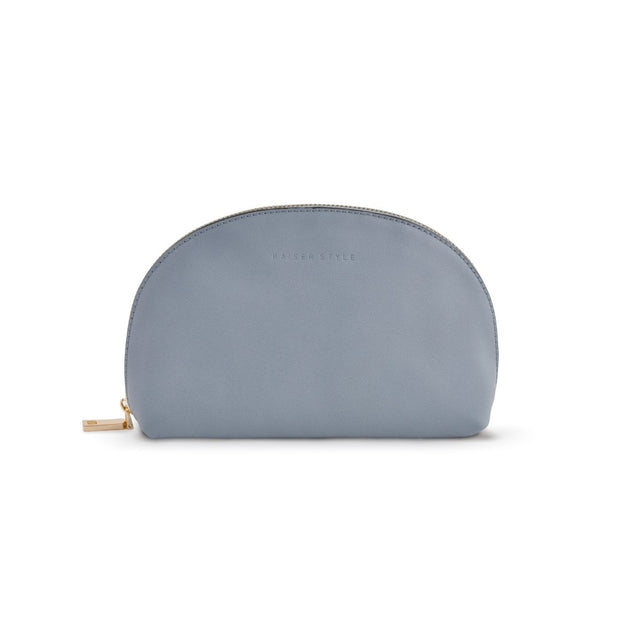 Curved Clutch - Blue