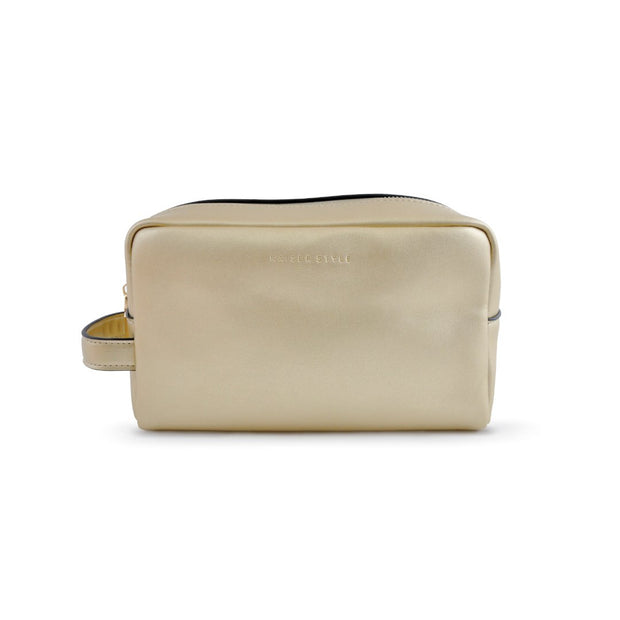 Cosmetic Bag - Metallic Gold