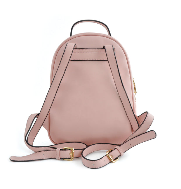 Rounded Backpack - Pink